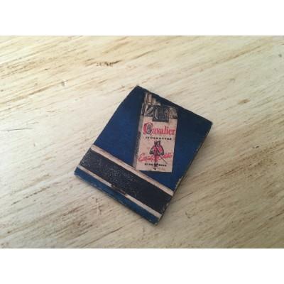 Ancien carton d'allumettes